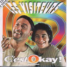 Les Visiteurs - single C'est Okay ! Entertaining, Baseball Cards, Portrait, Artwork, Fun, Fictional Characters, The Visitors, Cards, Work Of Art