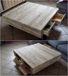 This wood pallet idea is basically about the storage table that also be availed with the services of deck. In this table you will view the cabinets as well that are about 2-3 in quantity. If you are in love playing cards with your family mates then this table is the best place for gatherings.