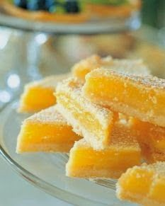 Lemon Bars ~ I was looking for an easy lemon bar recipe and came across this one by the Barefoot Contessa. It was super easy and came out delicious!