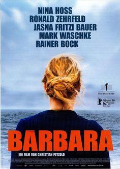 BARBARA - 2012 - NINA HOSS - RONALD ZEHRFELD - RAINER BOCK - FILMPOSTER A4