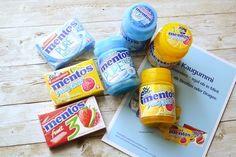 Testen und Freuen: Mentos Kaugummi: Full Fruit, Pure Fresh und Fruit 3