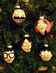 Created another set of Bobs Burgers ornaments! :) - Imgur