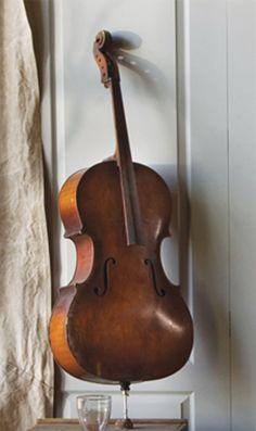 Sculptural vintage Cello $295