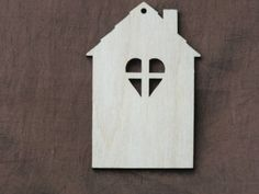 5x Wooden Birch Ply House Blank Rustic Hanging Gift Shape 9x5cm by WoodcraftBoutique on Etsy https://www.etsy.com/listing/189827108/5x-wooden-birch-ply-house-blank-rustic