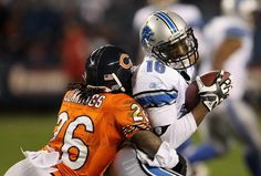 The Chicago Bears and the Detroit Lions meet Monday night (10/22/12. The Bears have 17 takeaways from quarterbacks in five games this season. Lions Quarterback Matthew Stafford has more interceptions (five) than passing touchdowns (four) in 2012. The Bears defense has scored more touchdowns (five) than Stafford has thrown, makng Detroit's QB a riskier play than Chicago's Jay Cutler. Matte Forte is not listed on the injury report, he should be at full strength against the Lions. Go Bears!