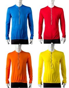 Tall Long Sleeve Cycling Jersey  Yellow  Size XLarge -- Click on the image for additional details.Note:It is affiliate link to Amazon.