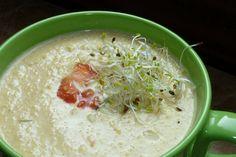 pumpkin raw soup @cristinaparus.com