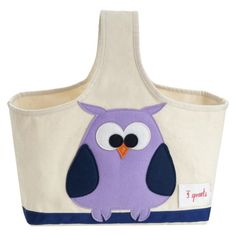 3 Sprouts Storage Caddy Owl : Target