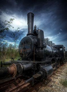 Oldboy steam locomotive