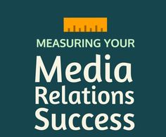Media relations isn't a perfect science. Your results aren't always perfectly quantifiable. At the end of the day, good media relations will result in conversion and, in turn, revenue--but how do you measure the success of a specific media campaign?