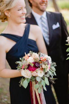 Bright rustic bouquet: http://www.stylemepretty.com/south-dakota-weddings/2015/02/24/rustic-south-dakota-state-park-wedding/ | Photography: Jeff Sampson - http://jeffreysampson.com/