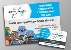 Flyer Et Carte De Visite Entreprise Supports Communication Web Print Pour Une Cration