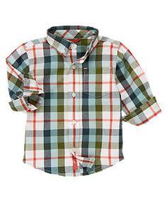 Plaid Shirt (Gymboree 3m-5T)