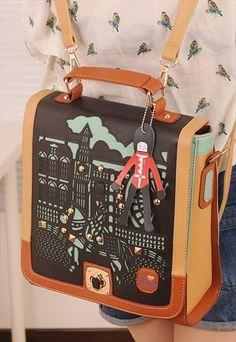 Top Geometric Bag by shoplayla