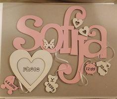 #sofija #ime #name  #babygirl #beba #devojcica #homedecor #frame #photoframe  #baby #girl #ram #slika #rodjendan #birthday #pink#roze  #lasercutting #lasercutting #lasercut #tmcraftroom #design #kids #wood#bear #meda#bear by tm_craft_room