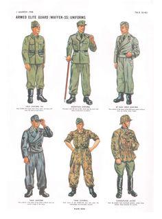 waffen-ss uniforms