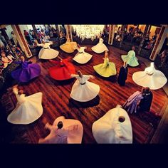 Whirling Dervishes #sufism #sufi #Islam  (Taken with Instagram at Istanbul)