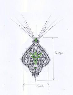 designer jewelry sketches - Google Search