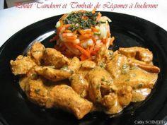 Cuisine indienne : recette du poulet tandoori, photo 3 Tandoori, Nutrition, Chicken Wings, Shrimp, Meat, Recipe Of The World, Cooking Recipes, Pork, Indian Recipes