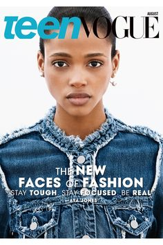 and I'm a big fan of Aya Jones too … so beautiful ! reminds me a bit of the 13 years old naomi !