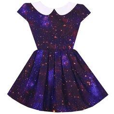 Swirling Supernova Wendy Dress