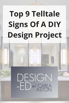 Telltale signs of a DIY design project kitchen remodel bathroom remodel furnishings Home Improvement Projects, Home Projects, Diy Remodel, Home Decor, Kitchen Remodeling Projects, Home Diy, Bathrooms Remodel, Home Improvement Store, Home Remodeling Diy