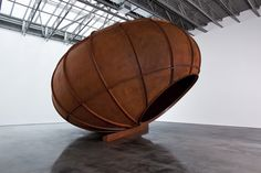 'untitled' by anish kapoor, 2012.