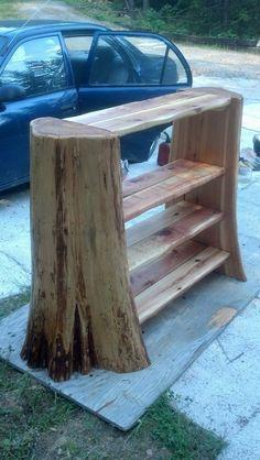 What to do with that cedar tree stump....hmmm.... - Imgur