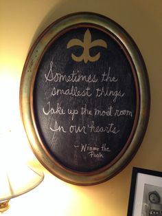 Winnie the Pooh quote - party decor