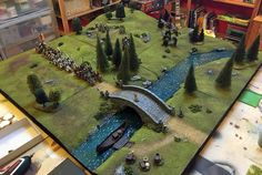 Miniature Warfare: Wargame Table Skirmish Board