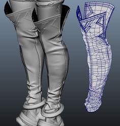 Zbrush Character, 3d Model Character, Character Modeling, Maya Modeling, Modeling Tips, Zbrush Models, Zbrush Tutorial, Digital Sculpting, 3d Mesh