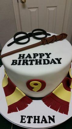 Amy's Crazy Cakes - Harry Potter Birthday Cake