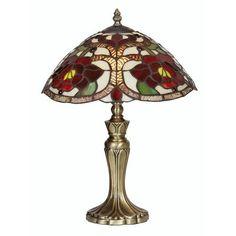 Tiffany Lighting Rose Table Lamp Tiffany Glass