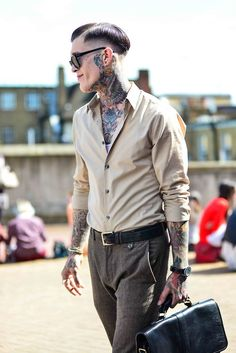 Photo ..: ink or men's style? - men's style :..