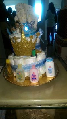Royal prince charming baby shower | CatchMyParty.com