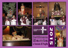 Cartoline dedicate alla Settimana Santa Canosa …….le foto delle Processioni, Repositori e Tradizioni  puoi seguirli su www.settimanasantacanosa.it
