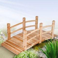 Puutarha silta, 99,95€. Pieni henkilökohtainen kosketus voi tehdä puutarhasta kutsuvan. #silta #puutarhasilta