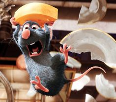 I love this character in Ratatouille!!!