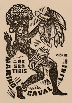 Exlibris ~ Antal Fery (Hungary) ~ During his career Fery created over 2000 bookplates, all in the woodcut medium.