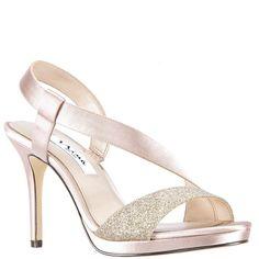 5572e17d606 ROBINA-SAND SATIN Holiday Shoes