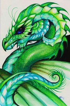 Green Dragon Cross Stitch Pattern by rhothgar on Etsy Cross Stitching, Cross Stitch Embroidery, Cross Stitch Patterns, Fantasy Dragon, Fantasy Art, Fantasy Creatures, Mythical Creatures, Dragon Cross Stitch, Dragon Pattern