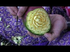 ▶ Fruit Carving 4 - YouTube