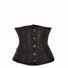 Waist Taming corset, achieve a dramatic shapely figure! This gorgeous, waist taming underbust corset with hip panels, draws much of its inspiration from the classic refinement of Victorian couture, combining it with the very best that contemporary tailoring has to offer. The underbust design works particularly well for ladies with a larger cup size, and makes for an excellent body-shaping corset. With a finish as stylish as this corset's brocade-style fabric you won't want to hide it away…