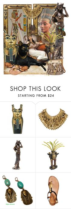 """""""Look Back To Old Egypt"""" by ragnh-mjos ❤ liked on Polyvore featuring H&M, Valentino, Chloé and modern"""