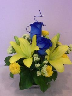 A flower arrangement called Title