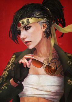 Casual Hanzo  Livestream 0613 5.5hrs  Yakuza Fem Hanzo. Widow will be next!
