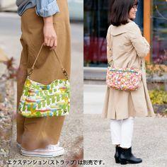 とってもかわいいバッグインバッグ