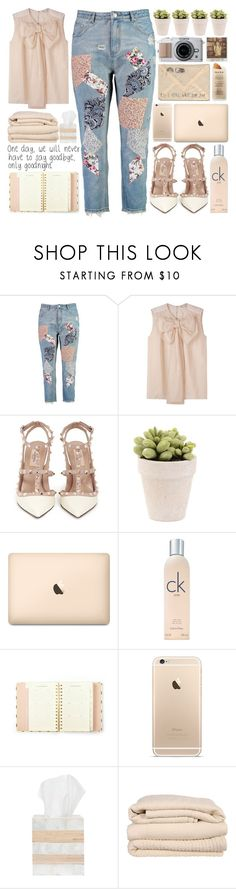 """Sweeter Than Fiction"" by puppies241 ❤ liked on Polyvore featuring Boohoo, STELLA McCARTNEY, Valentino, Calvin Klein, Kate Spade, Martha Stewart, Pigeon & Poodle, Brahms Mount, casual and Pink"