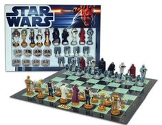 "Star Wars Chess Set / Chess Game Board with Star Wars Figurines Chess Pieces (Game Board Size 17"" x 17"") United Labels http://www.amazon.com/gp/product/B002BIRM2S/ref=as_li_qf_sp_asin_il_tl?ie=UTF8&camp=1789&creative=9325&creativeASIN=B002BIRM2S&linkCode=as2&tag=acenorris09-20&linkId=AIAZ5WVTKWOVZ2WJ"