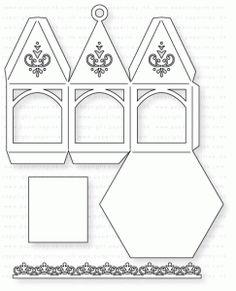 Papertrey Ink - Petite Ornament: Hexagon Die
